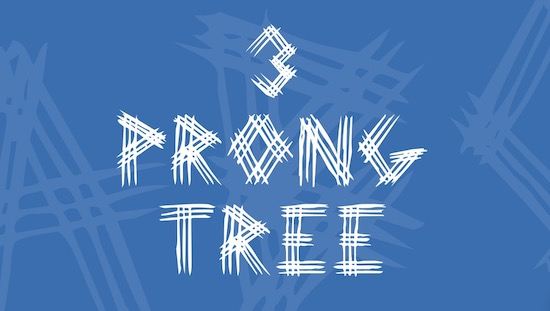 3 Prong Tree font download