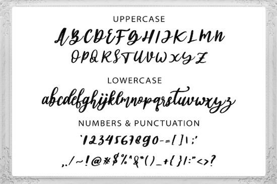 Abigail font download