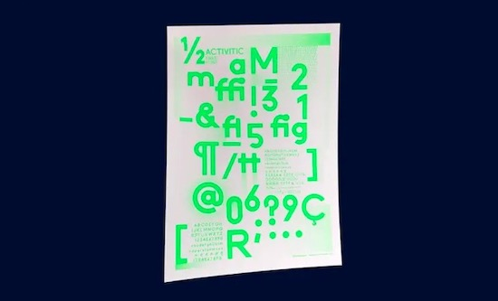Activitic font download