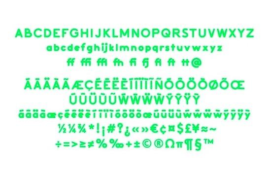 Activitic font free