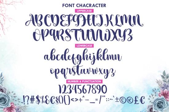 Aesthetic Midnight font free