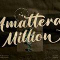 Amattera Million font free download