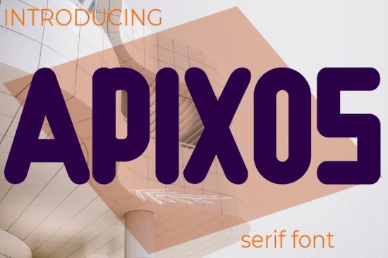 Apixos font free download