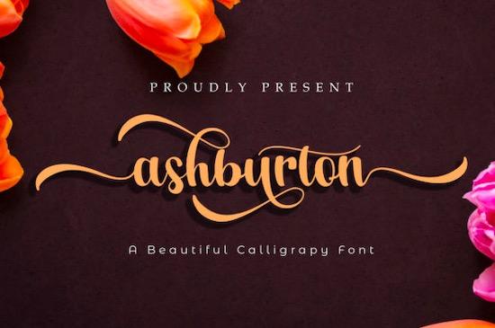 Ashburton font free download