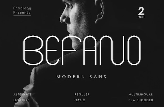 BEFANO font free download