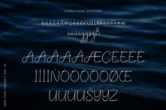 Barokah font free
