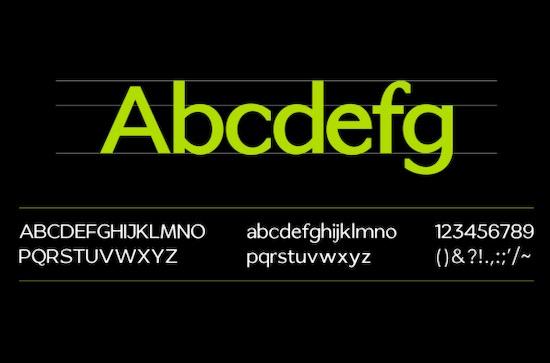 Bellaxio Sans font free