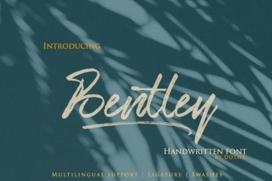 Bentley font free download