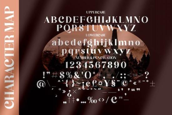 Bergante font download