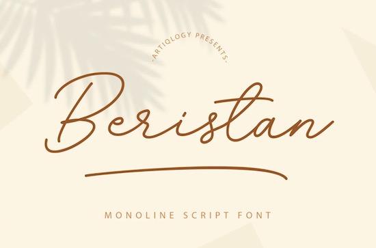 Beristan font free download