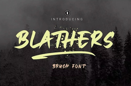 Blathers font free download