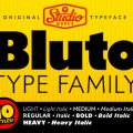 Bluto font family free download