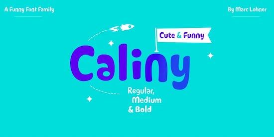 Caliny font download