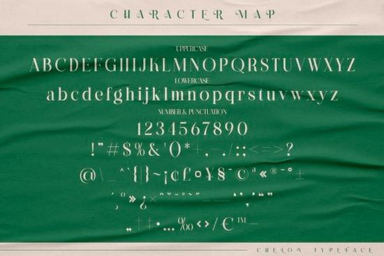Chelon font download
