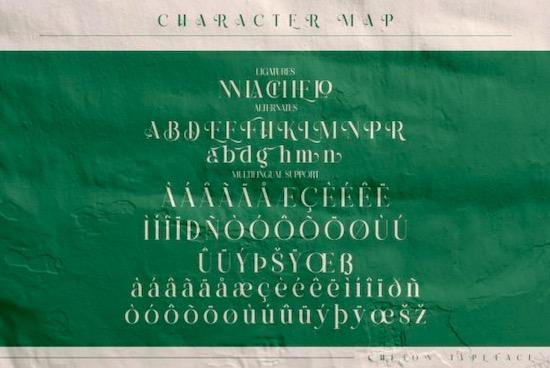Chelon font free