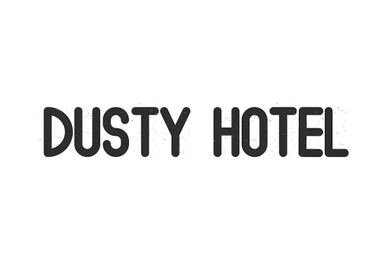 Dusty Hotel font free download