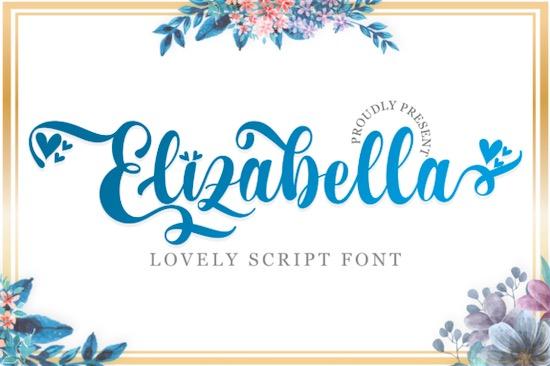 Elizabella font free download