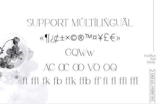 Evafiya font free