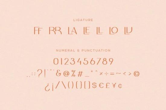 Galore font free