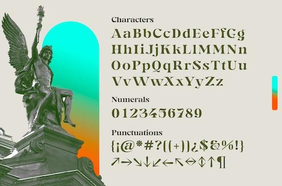 Gegor font free