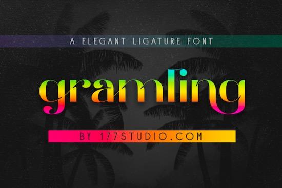 Gramling font free download