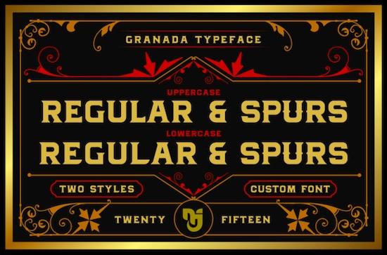 Granada font download