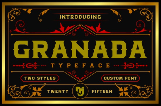 Granada font free download