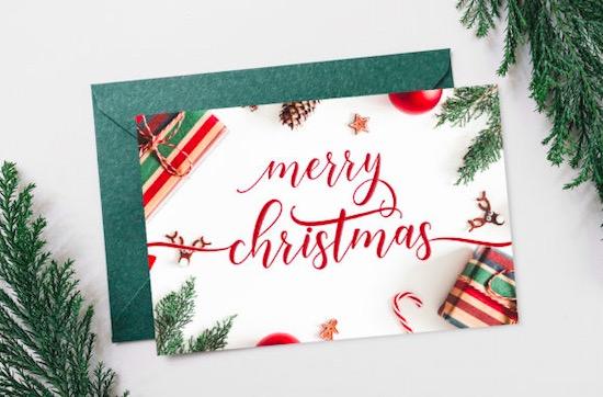 Happy Christmas font free