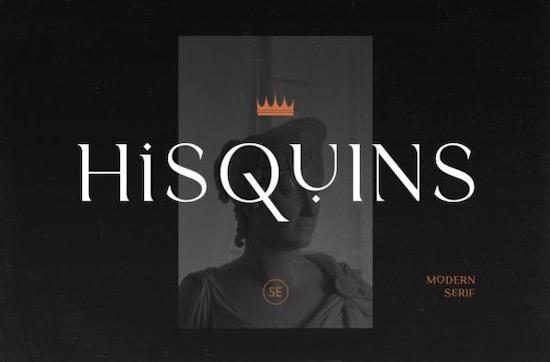 Hisquins font free download