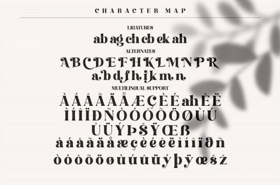 Hochagi font free