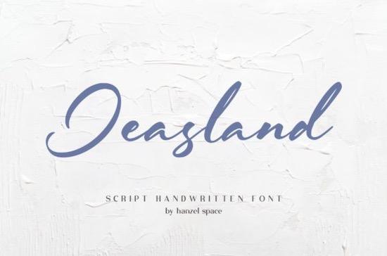 Jeasland font free download