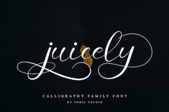 Juicely font free
