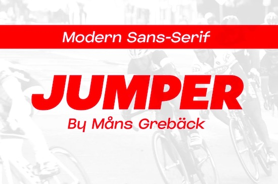 Jumper font family free download