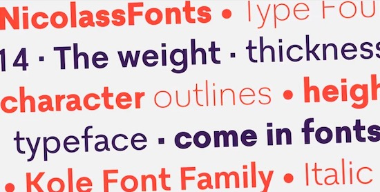 Kole font download