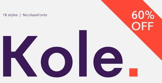 Kole font free download