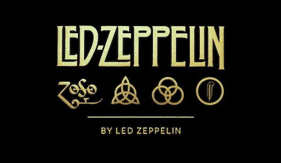 Led Zeppelin font free