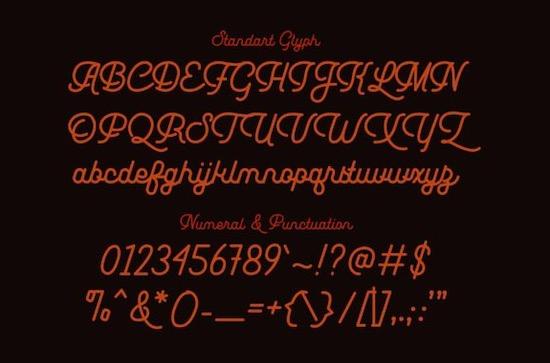 Leuthikline font download