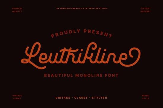 Leuthikline font free download