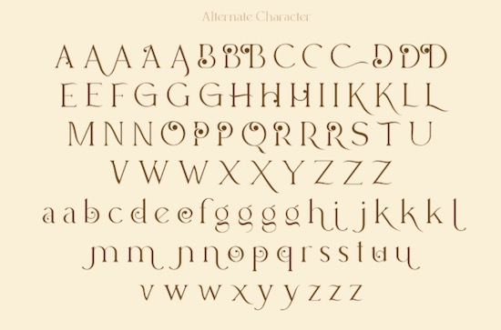 Lucky Change font download