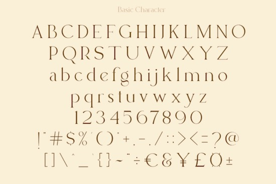 Lucky Change font free