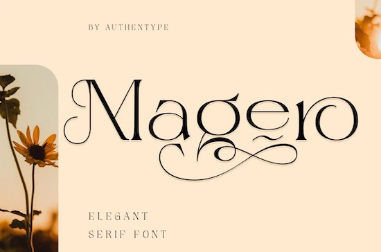 Magero font free download