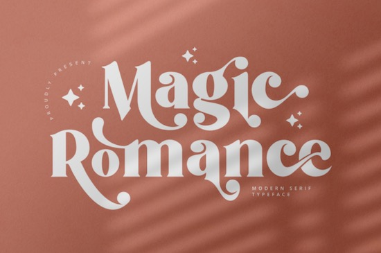 Magic Romance font free download