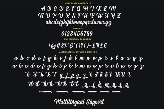 Magland font download