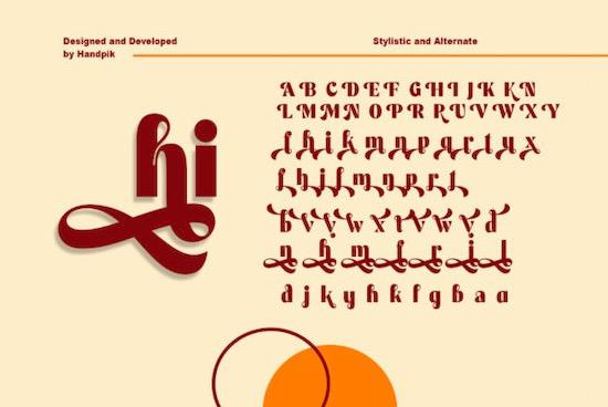 Mechta font download