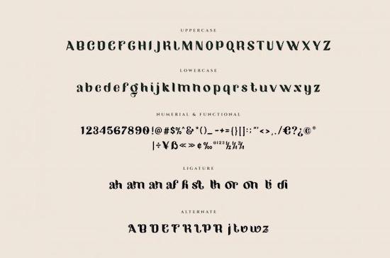Migano font free