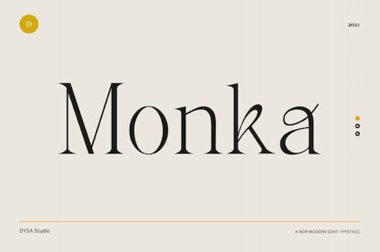 Monka font free download