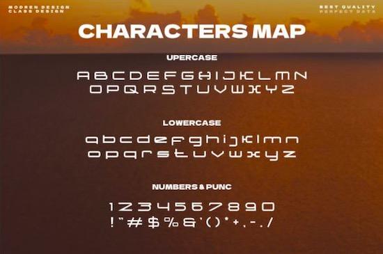 Monoline font download