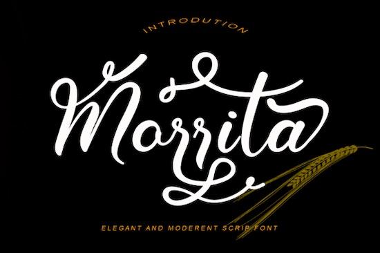 Morrita font free download
