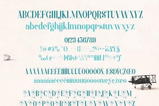 Morva font free