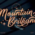 Mountain Brilliant font free download